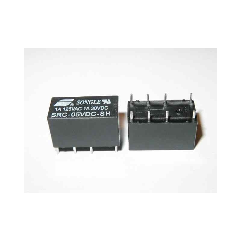 RELE 5Vdc 2 SCAMBI SRC-05VDC-SH