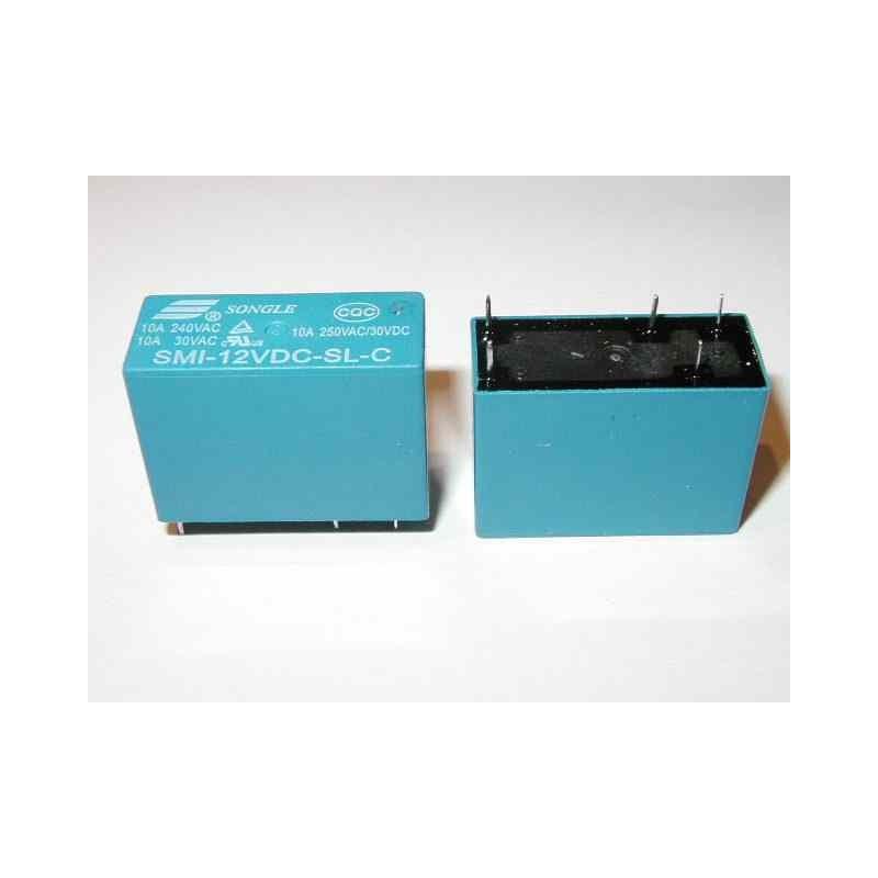 RELE 12Vdc 1 SCAMBIO SMI-12VDC-SL-C