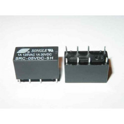 RELE 12Vdc 2 SCAMBI SRC-12VDC-SH 1A