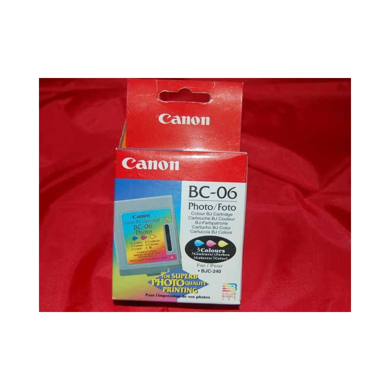 CARTUCCIA COLORE PHOTO BC-06X CANNON240/1000