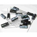 Kit 110 condensatori elettrolitici