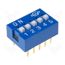 DIP SWITCH 4 POLI DIL