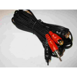 2 RCA PLUGS - 2 RCA SOCKETS 5MT
