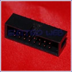 CONNETTORI MASCHIO IDC 16 PIN da circuito stampato (conf. 10 pezzi)