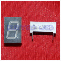 DISPLAY a 7 segmenti Catodo Comune RL-S0510GDBW/D13 LED Verde 12.7mm (conf. 2 pezzi)
