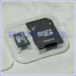 ARDUINO Micro SD card 2GB con adattatore SD