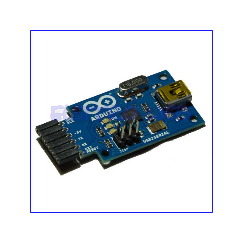 ARDUINO Convertitore USB/SERIALE ORIGINALE - USB 2 SERIAL CONVERTER - Made in ITALY