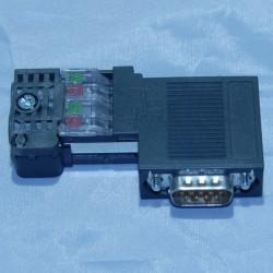0004 - PLC USATI - SIEMENS SIMATIC S7 PROFIBUS CONNECTOR 6ES7 972-0BA50-0XA0