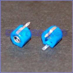 Compensatore blu 2 - 5 pF