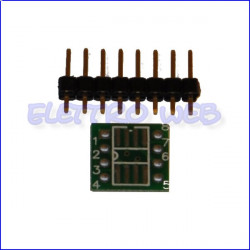 Adattatore  PCB SMD SO-8 a DIL 8 Pin