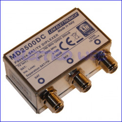 MIX / DEMIX PASSIVO SATELLITE-TERRESTRE con passaggio DC - LEM MD2500DC