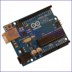 ARDUINO UNO Rev3 ORIGINALE con microcontrollore ATmega328 - Made in Italy