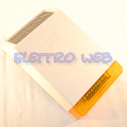 Sirena wireless per centrale Defender a 868MHz batteria e pannello di ricarica