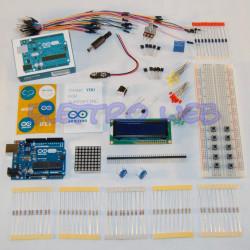 Starter Kit ARDUINO UNO Rev3 con microcontrollore ATmega328 - IN ITALIA