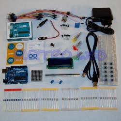 Starter Kit ARDUINO UNO Rev3 con microcontrollore ATmega328 - CON CAVO PC-USB