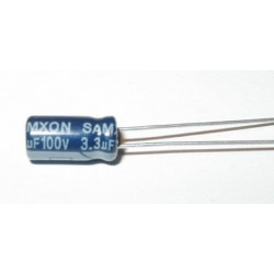 COND. ELET. 3,3uF 100V V. 5x11 P2.0