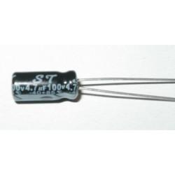 COND. ELET. 4,7mF 100V 5X11 P2