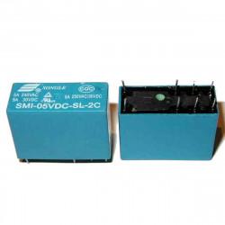 RELE 12Vdc 2 SCAMBI SMI-12VDC-SL-2C 5A