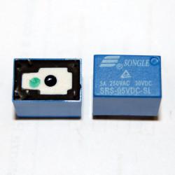 RELE 5Vdc 1 SCAMBIO SRS-05VDC-SL contatto 3A