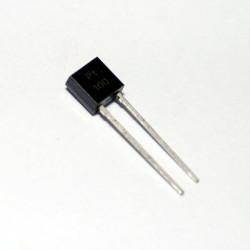 Sensore temperatura PT100 TO92 - 100 Ohm curva B