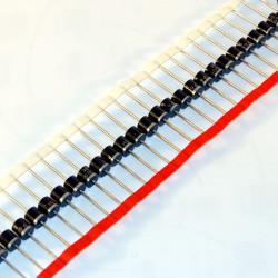 Diodo al silicio assiale P600M - 1000V 6A, su bobina a nastro (conf. 5 pezzi)