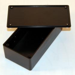 CONTENITORE PLASTICO 129 x 64 x 45 mm con alloggiamenti per schede elettroniche