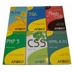 LOTTO - 6 Libri Programmazione USATI Apogeo Pocket