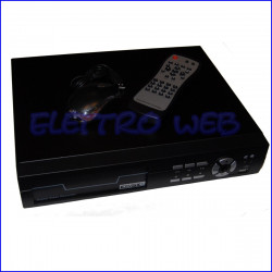 Videoregistratore  DVR 4 INGRESSI con HDD 250 GB ELVOX