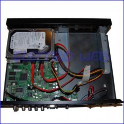 Videoregistratore  DVR 4 INGRESSI con HDD 250 GB ELVOX