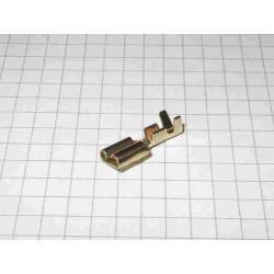 FASTON FEMMINA Nudo 6.3mm