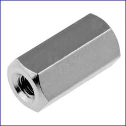 Distanziale filettato in metallo M2,5 L10