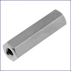 Distanziale filettato in metallo M2,5 L18