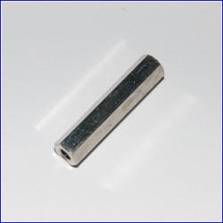 Distanziale filettato in metallo M3 L25