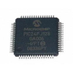 MICROPROCESSORE PIC24FJ128GA006-I/PT