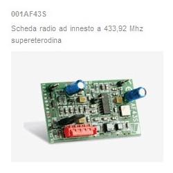 SCHEDA RADIOFREQUENZA 433.92 Mhz