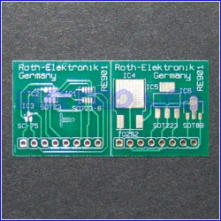 Scheda universale multiadapter SOT-23