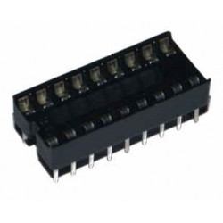 ZOCCOLO DIL 18 PIN