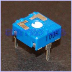 TRIMMER 100 Kohm 10X10 Orrizontale