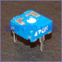 TRIMMER 470 KOhm 10X10 Orrizontale